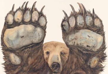 Jackie Morris_The shaggy-coated sloth bear