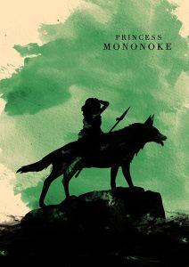 Princess Mononoke_Cartel minimalista