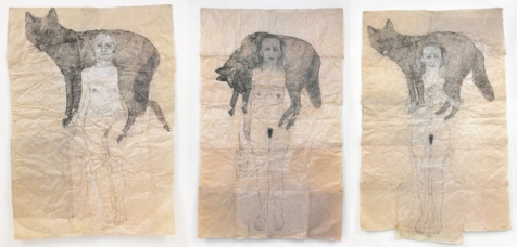 kiki-smith_Wolves
