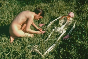 ana-mendieta_On-Giving-Life-1975