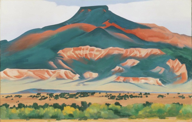 Georgia O'Keeffe_Red and Yellow Cliffs_1940