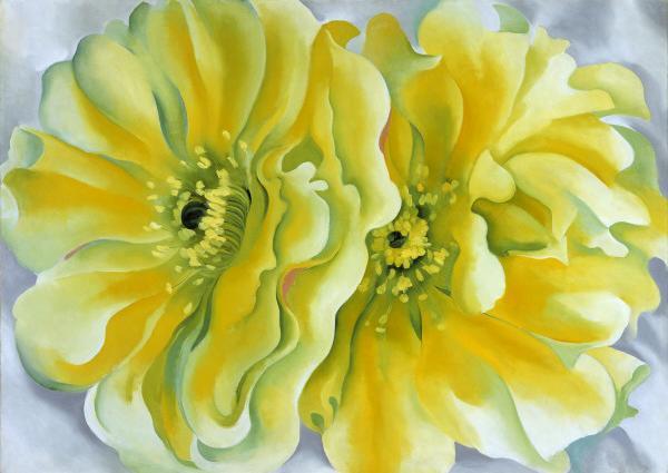 georgia-okeeffe-yellow-cactus