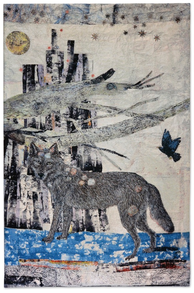 Kiki-Smith_Cathedral Wolf_2012