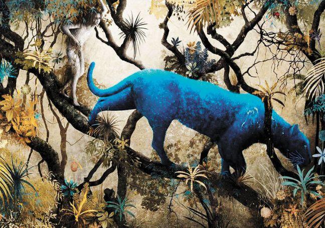 Gabriel Pacheco_El libro de la selva_Mowgli y Bagheera