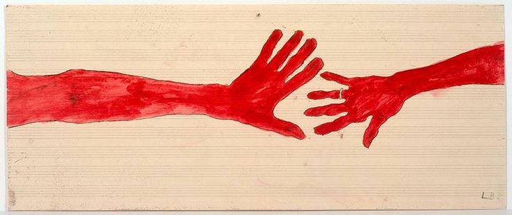 Louise Bourgeois_10 a.m Is When You Come To Me