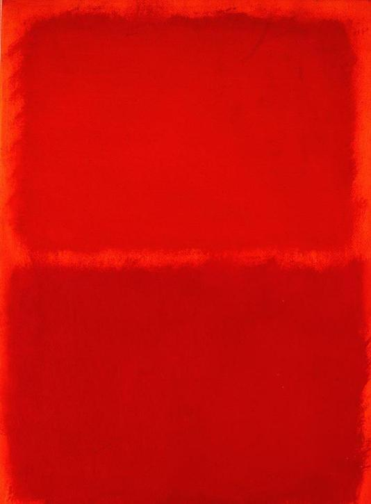 Mark Rothko_Red equal sign