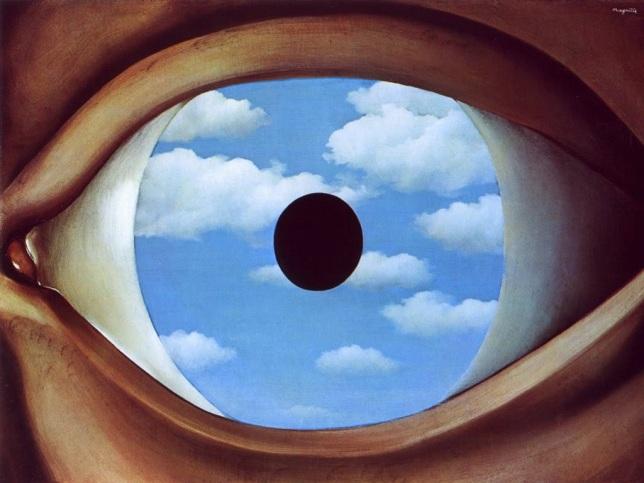 René Magritte_Faux miroir_1928