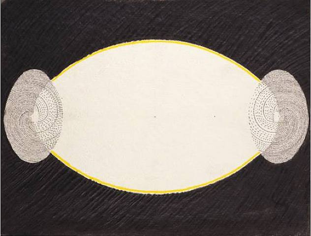 Juan Downey_Meditation Drawing 23_1977